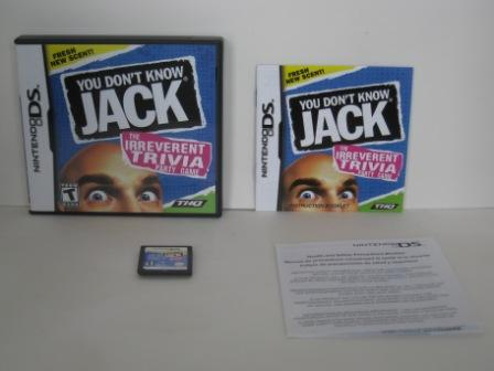 You Don\'t Know Jack (CIB) - Nintendo DS Game